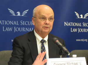 Gen. Hayden headlines cybersecurity panel